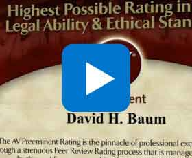 David Baum AV Preeminent Rated